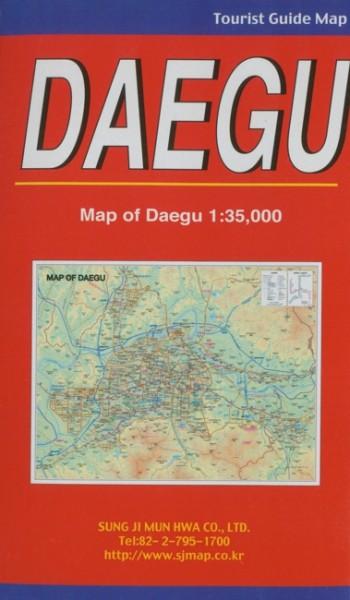 Daegu - Stadt und Umgebungsplan