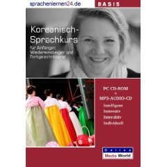 Koreanisch-Basis-Sprachkurs | CD-ROM + MP3 CD
