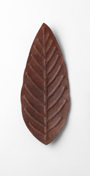 Flexible Hanji Paper Tray Maple Leave red 20x20cm