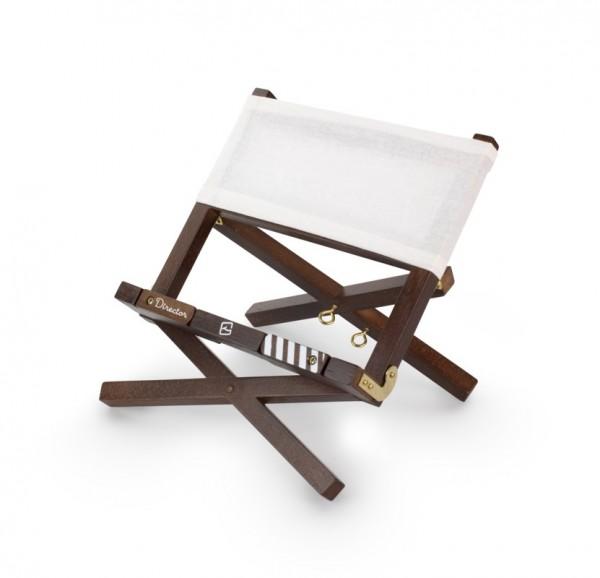 Director's Bookchair - white - Leseständer aus Holz