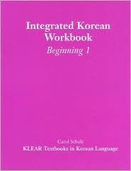 Integrated Korean: Beginning 1 Workbook