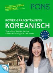 PONS Power-Sprachtraining Koreanisch   mit Audio-CD