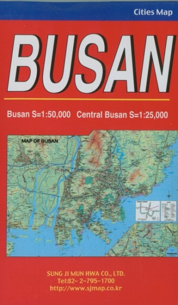 Busan - City Map - Stadtplan
