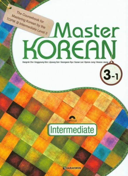 Master KOREAN 3-1 Intermediate with MP3 CD