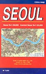 Cities Map: Seoul - Stadtplan