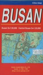 Busan - City Map - Stadtplan